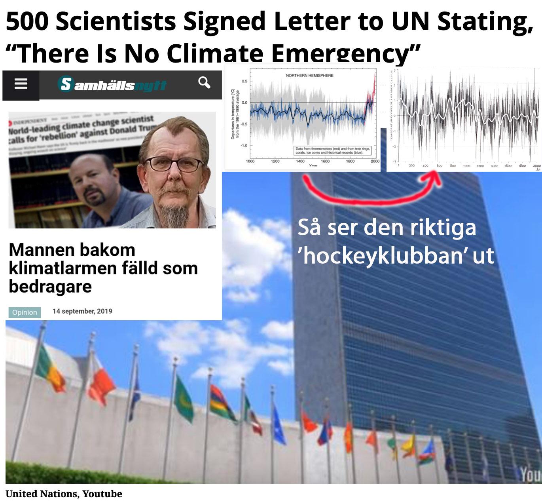 Två dråpslag mot FN:s klimatpanel som du troligen inte känner till.