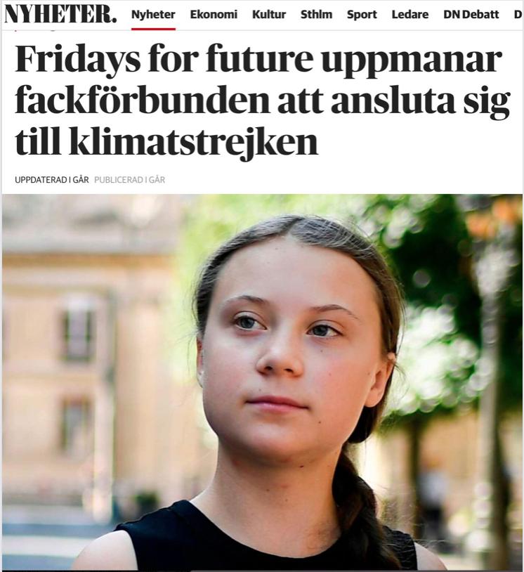 Gretas stab kommer ut som dark green – profetens mål är en ny samhällsordning: klimatdiktatur