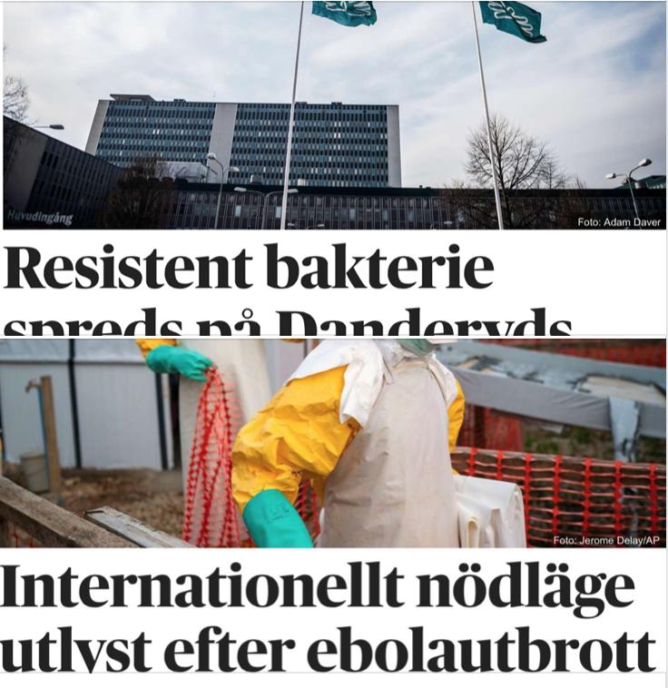 Ebola och antibiotikaresistens sprids med flyktingar – som inte hälsoscannas