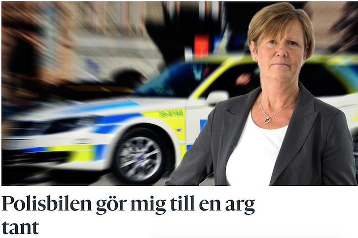 Sverige består av många 'arga tanter' som vet bäst – inte bara i trafiken.