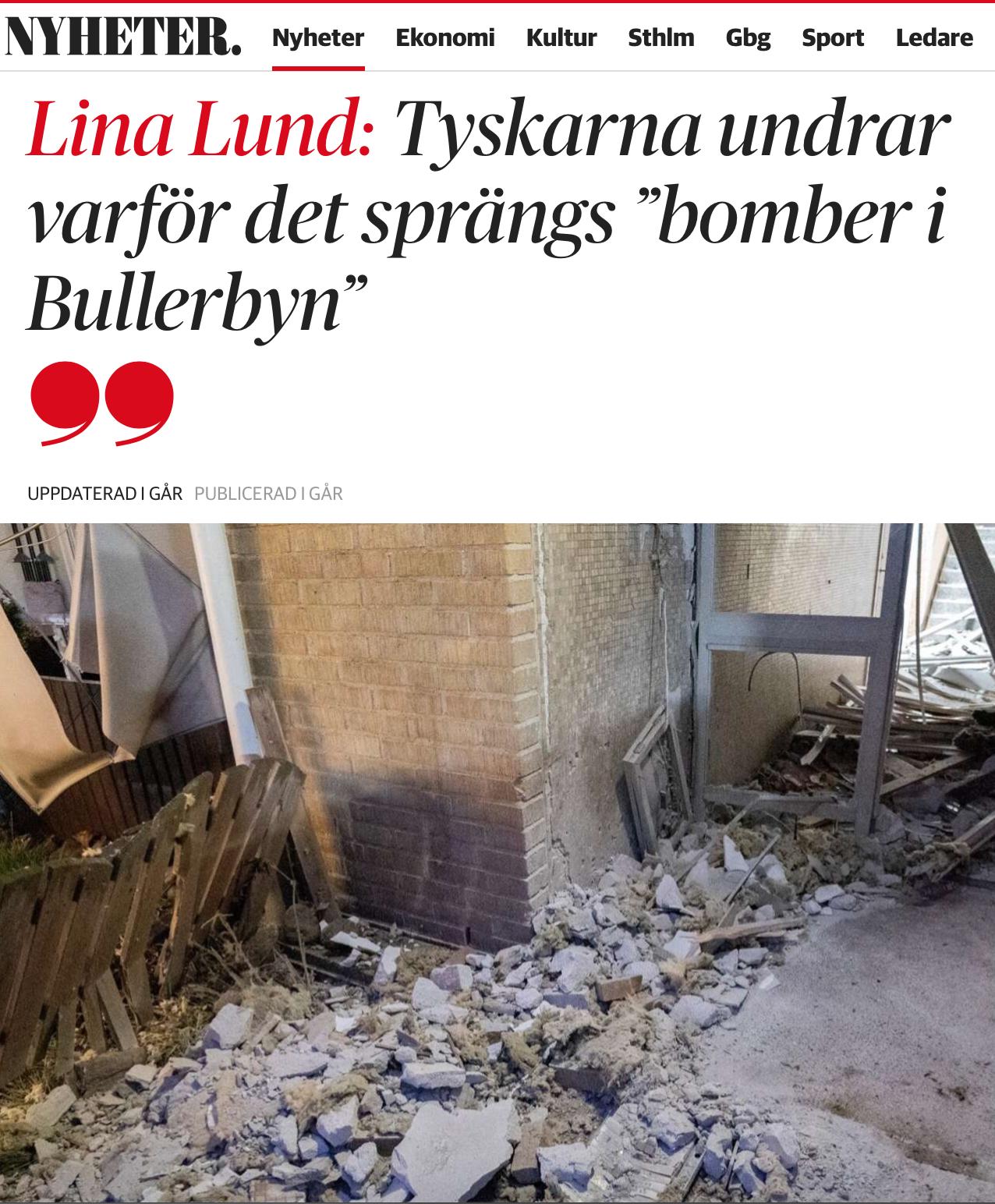 Tipping point. Malmö och Sverige har nått den, det har inte Tyskland.