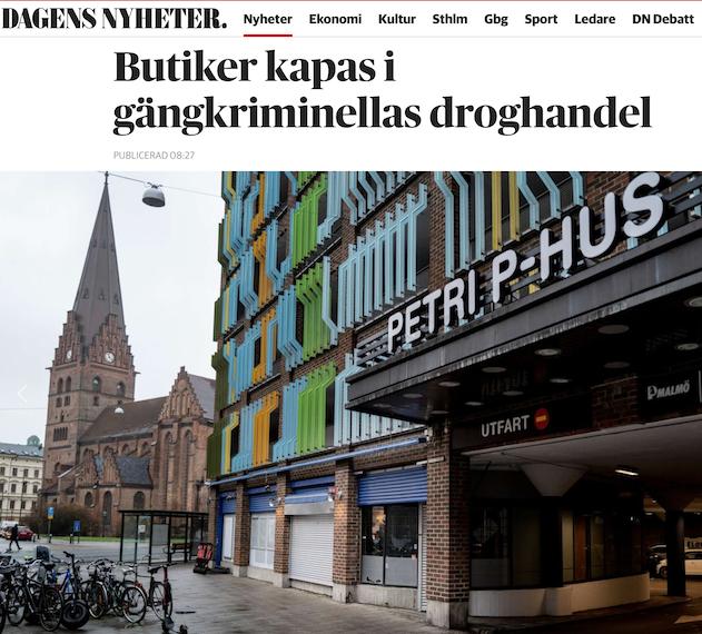 Fly Sverige?! MSM har börjat använda högerns verklighetsbeskrivning. Inget annat är nytt.