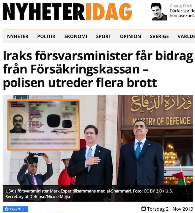 Att citera Nyheter Idag!? Expressen snodde nyheten. På SVT var det knäpptyst. Och för DN var det riktigt kämpigt…