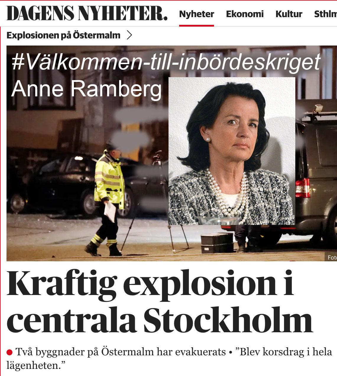 Anne Ramberg, ska du flytta nu? #välkommen-till-inbördeskriget