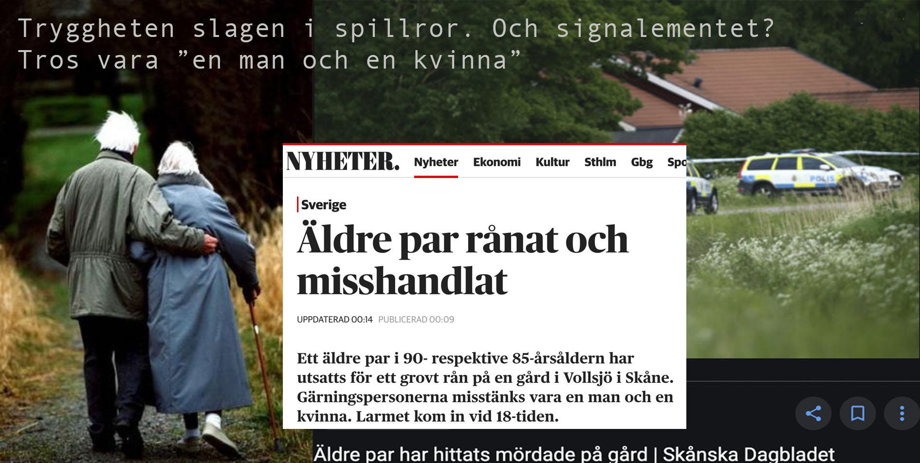 Våld mot äldre är ett slag i ansiktet på oss alla – ett adjö till det liv Sverige skulle kunnat ge oss.
