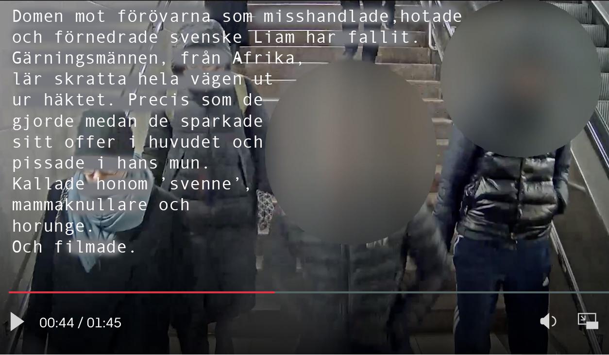 Sveket är monumentalt. Det officiella Sverige fortsätter att förneka, förminska och förlöjliga grov tortyr av svenska barn. I antirasismens namn.