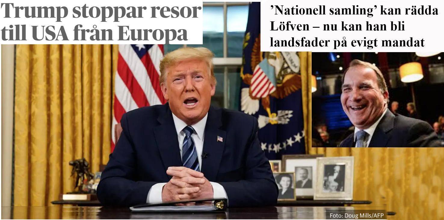 Nationell samling – och några goda råd. Annars ger vi 'landsfadern' Löfven evigt mandat.
