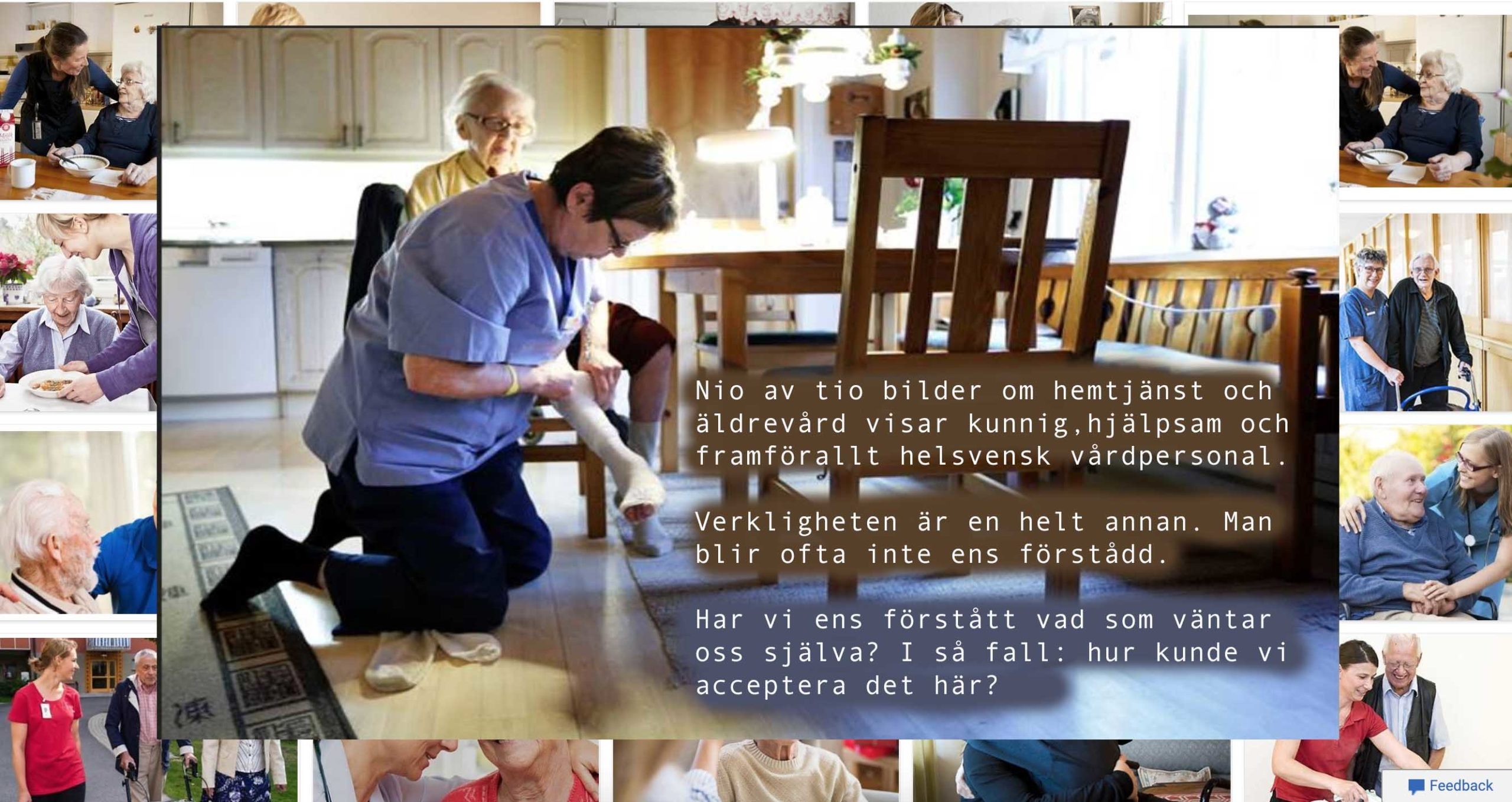Hemtjänsten och äldreboendet  – kommer de ens förstå vad du säger?