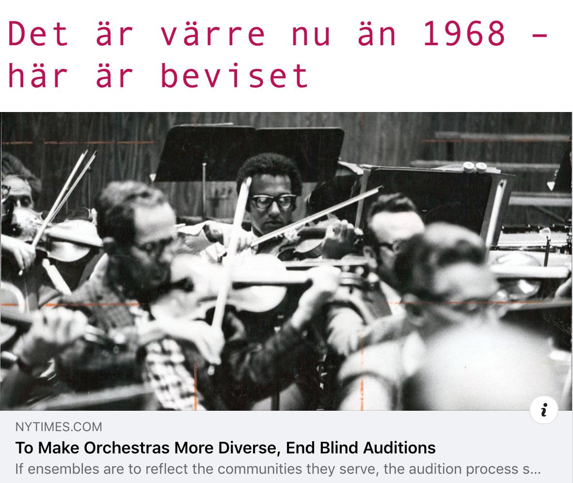 Att de postmoderna vill överge blindtester bevisar en blindhet som är långt värre än 1968.