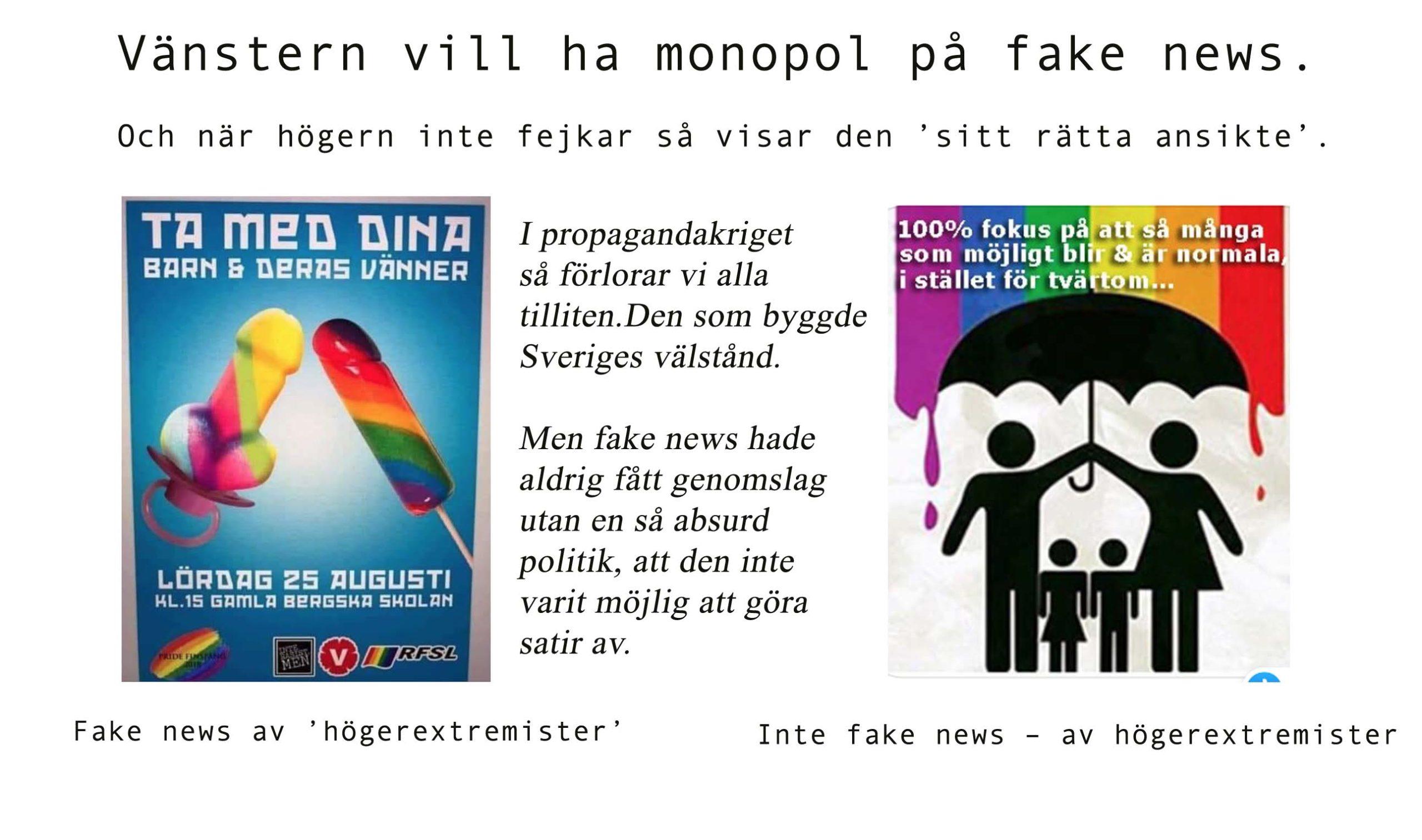Kärnfamiljen har blivit extremistisk och Pride är mainstream – nej, det är inte fake news