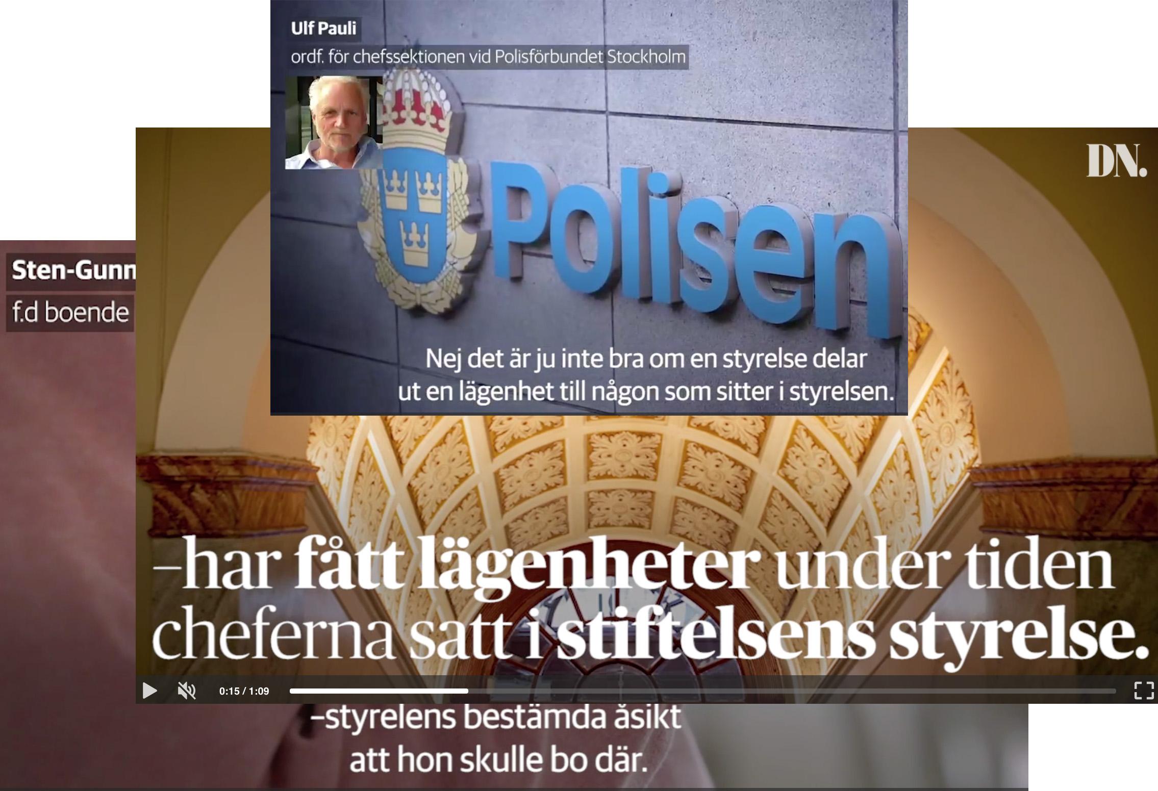 BRÅ-chefen mutad av polisen. Och det korrupta Sverige bryr sig inte ens.