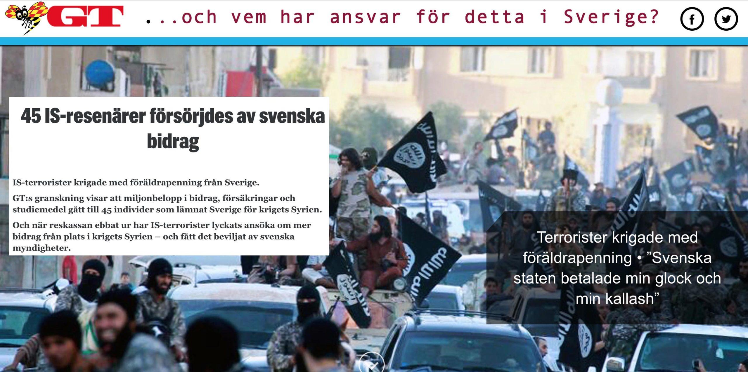 Löfvenregimens statsstödda terrorism